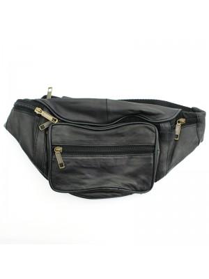 Leather RFID Bum Bag (BB103)