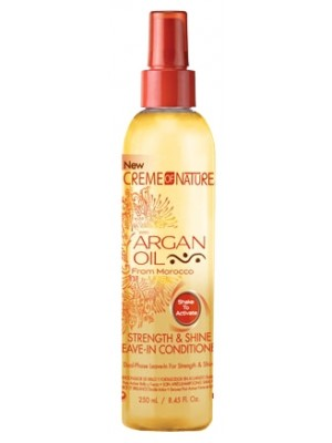 Wholesale Creme Of Nature Argan Oil Strength & Shine Leave-in Conditioner - 250ml