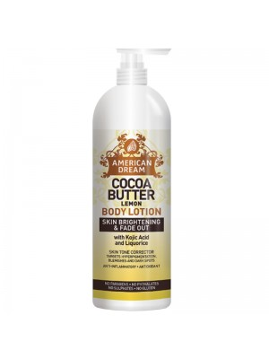 Wholesale American Dream Cocoa Butter Skin Soothing Body Lotion - Lemon (473 ml)