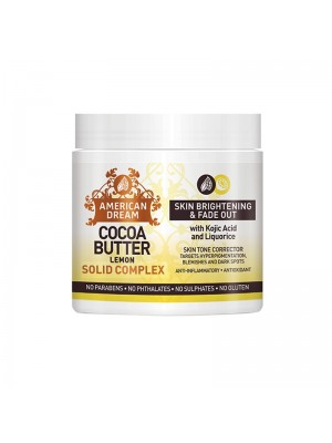 Wholesale American Dream Cocoa Butter Skin Brightening & Fade Out Solid Complex - Lemon (2 oz)