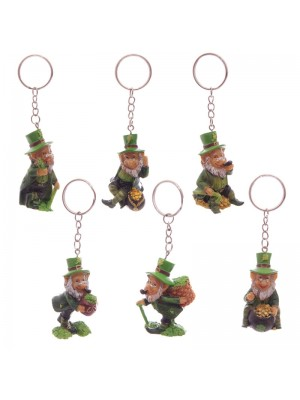 Wholesale Lucky Leprechaun Keyrings