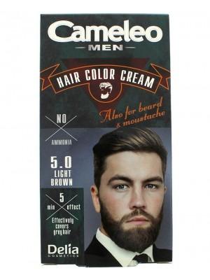 Cameleo Men Hair Color Cream - 5.0 Light Brown