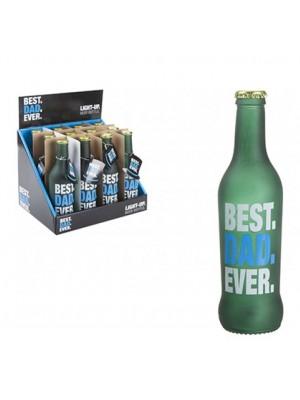 Wholesale Light Up Best Dad Ever Beer Bottle