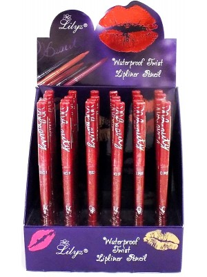 Wholesale Lilyz Waterproof Lipliner Pencil - Classic Red