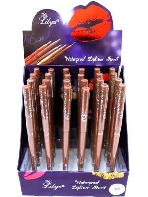 Wholesale Lilyz Waterproof Lipliner Pencil - Riot