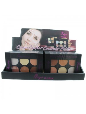 Lilyz Cream Contour Concealer Palette - Light Shades