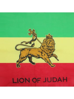 Lion of Judah Print Bandanas (With Writing)