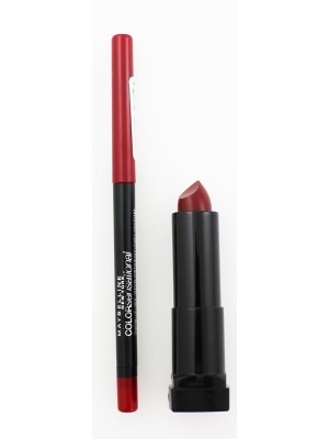 Wholesale Maybelline The Mate addiction Lipstick & Lipliner-05/90