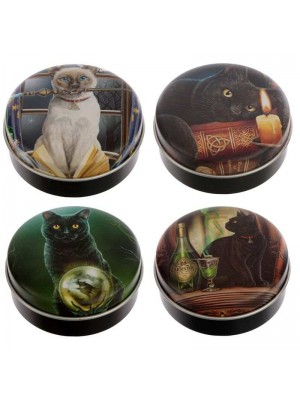 Lisa Parker Cats Lip Balm in a Tin