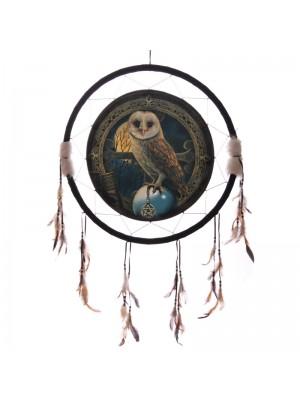 Wholesale Lisa Parker Barn Owl Dreamcatcher - 60cm