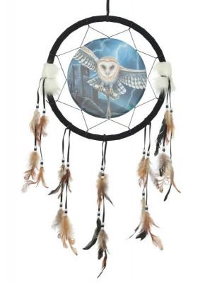 Lisa Parker Heart of the Storm Owl Dreamcatcher 33cm