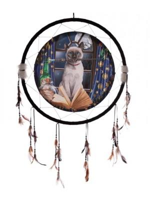 Wholesale Lisa Parker Hocus Pocus Cat Dreamcatcher - 60cm