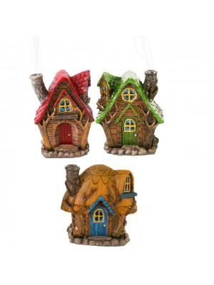 Lisa Parker Incense Cone Burner- Fairy Homes Assorted