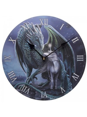 Wholesale Lisa Parker Protector Magick Dragon and Unicorn Wall Clock