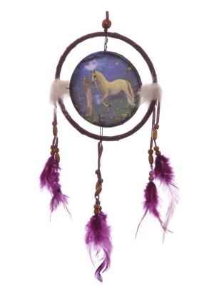 Lisa Parker Unicorn Garden Dreamcatcher (16cm)