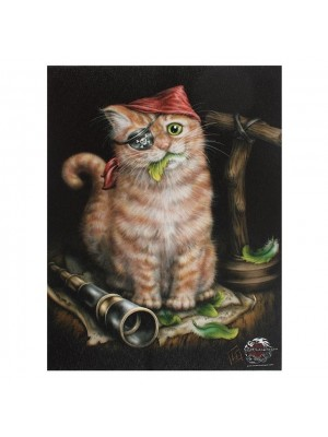 Lisa-Parker-Wall-Canvas-Pirate-Kitten-79038