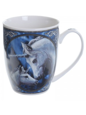 Lisa Parker New Bone China Mug - The Sacred Love Unicorn