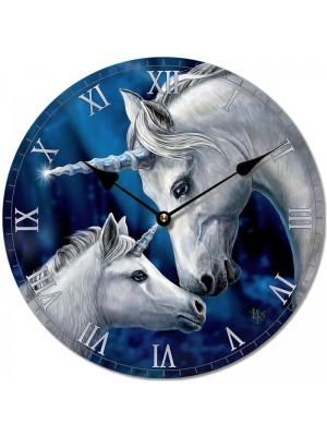 Lisa Parker Sacred Love Unicorn Picture Clock