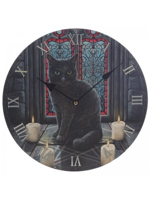 Lisa Parker Secret Circle Cat Wall Clock