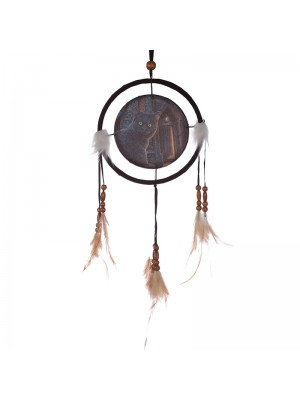 Lisa Parker What Lies Within Cat Dreamcatcher - 16cm