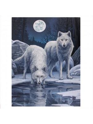 Lisa Parker 'Winter Warrior' Picture Canvas