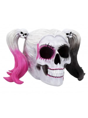 Little Monster Pigtailed Troublemaker Skull - 20.6cm