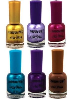 Wholesale London Girl Nail Polish - Assorted Colours (Tray B)