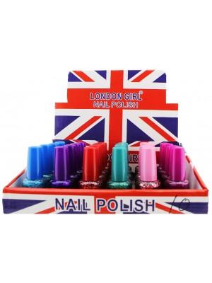 Wholesale London Girl Nail Polish (Tray 10) - Assorted Colours