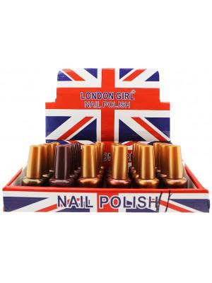 Wholesale London Girl Nail Polish (Tray 11) - Assorted Colours