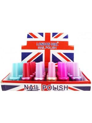 Wholesale London Girl Nail Polish (Tray 13) - Assorted Colours