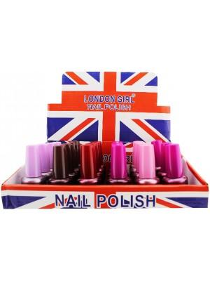Wholesale London Girl Nail Polish (Tray 14) - Assorted Colours