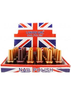 Wholesale London Girl Nail Polish (Tray 2) - Assorted Colours