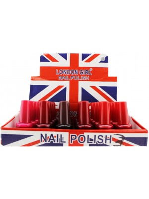Wholesale London Girl Nail Polish (Tray 3) - Assorted Colours