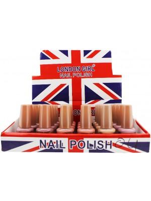 Wholesale London Girl Nail Polish (Tray 4) - Assorted Colours