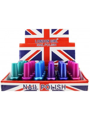 Wholesale London Girl Nail Polish (Tray 6) - Assorted Colours