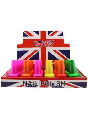 Wholesale London Girl Nail Polish (Tray 8) - Assorted Colours