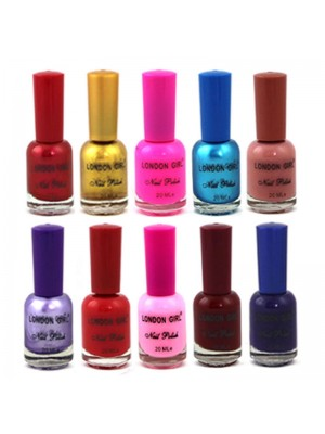 Wholesale London Girl Nail Polish (Tray B) - Assorted Colours