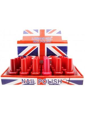 Wholesale London Girl Nail Polish (Tray 1) - Assorted Colours