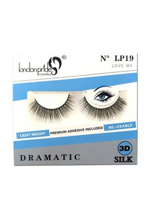 Wholesale London Pride 3D Silk Dramatic Eyelashes - LP19 Love Me