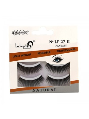 Wholesale London Pride 3D Silk Natural Eyelashes - LP 27 Fantansy