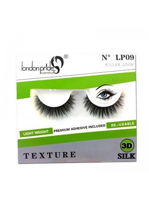 Wholesale London Pride 3D Silk Texture Eyelashes - LP09 Killer Look
