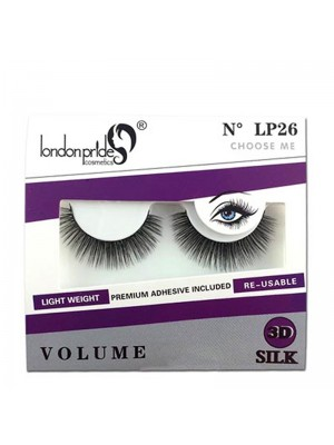Wholesale London Pride 3D Silk Volume Eyelashes - LP26 Choose Me