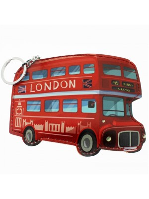 London Bus Coin Purse