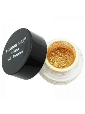 London Girl All Purpose Glitter - 3D Gold