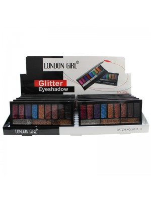 London Girl Glitter Eyeshadow - Assorted Colours