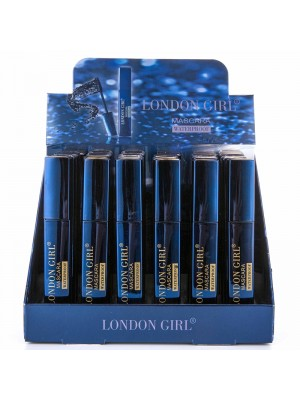London Girl Waterproof Mascara - Black