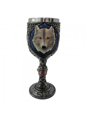Lone Wolf Goblet - 19.5cm