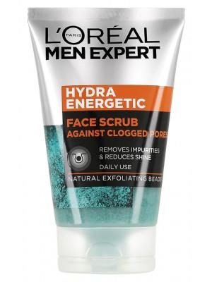 Wholesale Loreal Men Expert Hydra Energetic Face Scrub - 100ml