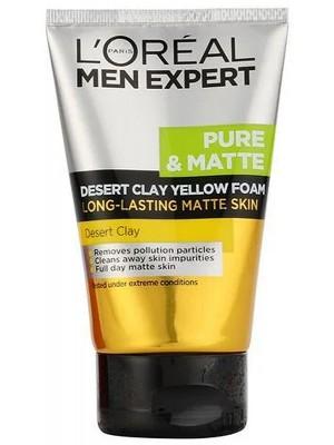 Loreal Paris Men Expert Desert Clay Yellow Foam Face Wash-100ml