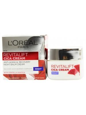 Wholesale Loreal Paris Revitalift Cica Anti Aging & Recovery Night Cream - 50ml
